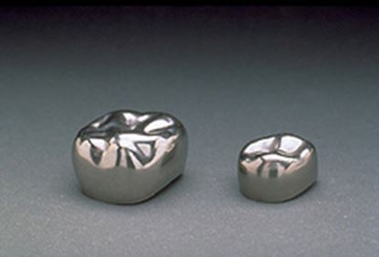 Picture of Stainless Steel Nicro Crowns 1st & 2nd Primary Molar  5/pk. - 3M ESPE