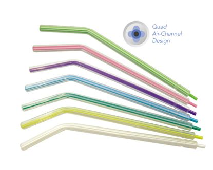 Picture of Disposable Plastic Air Water Syringe Tips - Multicolored