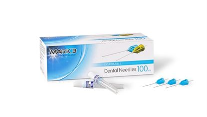 Picture of Needles With Plastic Hub 100/pk - MARK3