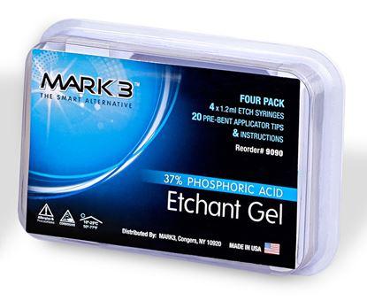 Picture of Etch Gel 37% Phosphoric Acid 4/pk 1.2ml syringes - MARK3