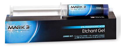 Picture of MARK3 Etch Gel 37% Phosphoric Acid Jumbo Pack 50ml Syringe Kit