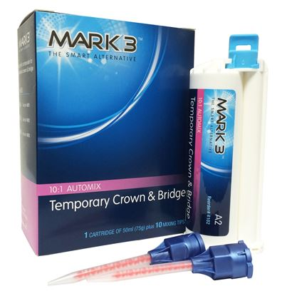 Picture of MARK3 Temporary Crown and Bridge 50ml 10:1 Cartridge