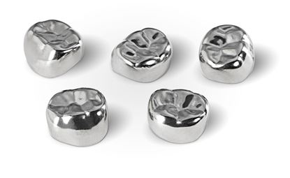 Picture of MARK3 Primary Molar Stainless Steel Crowns 5/pk