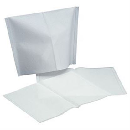 Picture of Headrest Covers Paper  White 500/bx. - Unipack