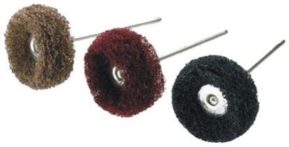 Picture of Miniature Scotch Brite Polishing Wheel