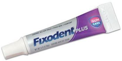Picture of Fixodent Plus Gum Care Adhesive Cream, case of 50 tubes