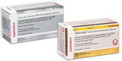 Picture of Septocaine Articaine HCl 4% - Septodont