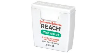 Picture of Reach Waxed floss samples