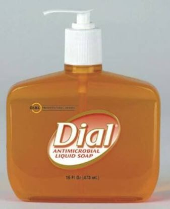 Picture of Antimicrobial Soap Dial Liquid Classic Scent 16 oz.