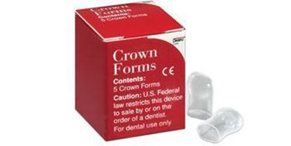 Picture of Strip Off Crown Forms - Dentsply Caulk