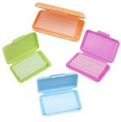 Picture of Orthodontic Patient Wax - 50 Containers - 5 Strips/Wax/Container