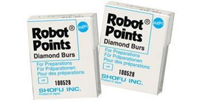 Picture of Robot Points 6/pk - Shofu