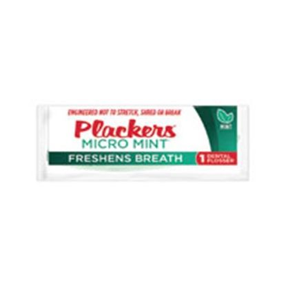 Picture of Plackers Flosser Micro Mint Individually Wrapped 1000/Ca