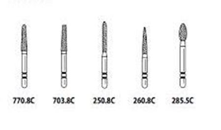 Picture for category Two Striper Diamond Burs - Premier Dental