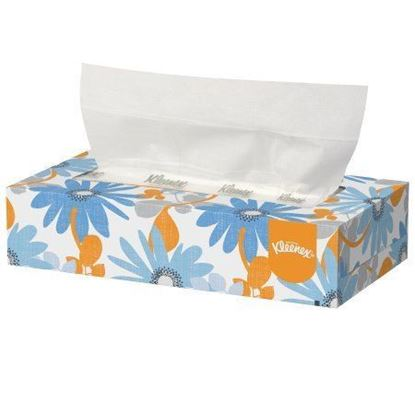 Picture of Kleenex Facial Tissue - Case/48