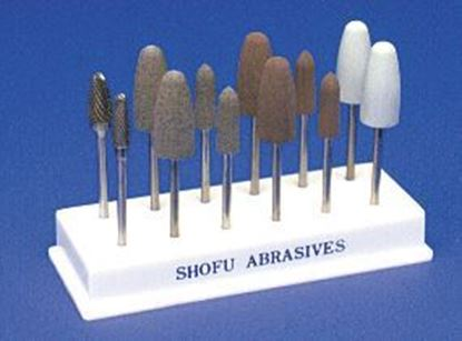 Picture of Acrylic Polishing Kit Hp (2 Carbide Hp Cutters & 10 Assorted shapes Acrypoint )
