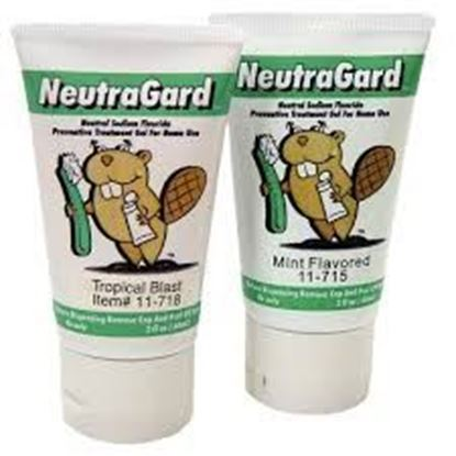 Picture of NeutraGard Gel - 1.1% Neutral Sodium Fluoride - Mint 2oz Tube