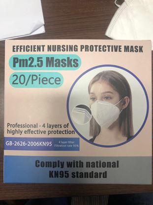 Picture of KN-95 Earloop Masks - Box of 20 - KN95