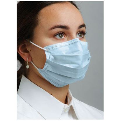 Picture of Earloop Masks - Level 1 -  House Brand - Blue